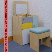 bàn trang điểm bằng gỗ đẹp tphcm