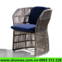 sofa mây nhựa giá rẻ hcm