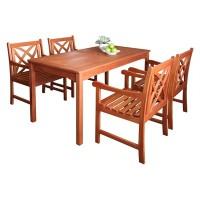 Bộ bàn gỗ bạch đàn