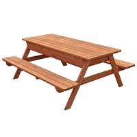 Bộ bàn ăn gỗ dã ngoại