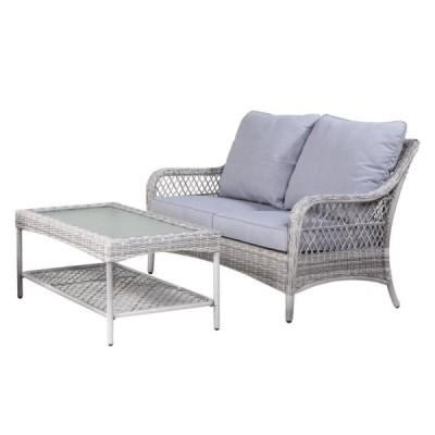 Bàn ghế sofa bằng nhựa mây