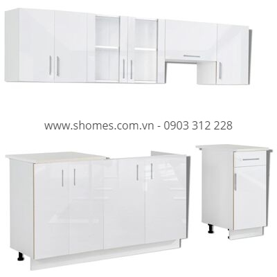 +100 mẫu tủ bếp gỗ công nghiệp