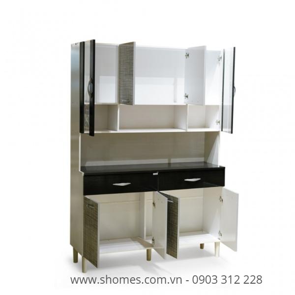 100 mẫu tủ bếp gỗ công nghiệp