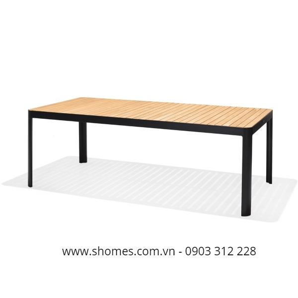 22 mẫu bàn ghế nhôm