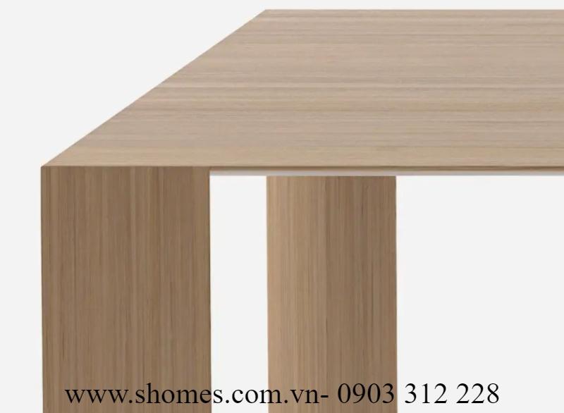7 mẫu  bàn ghế gỗ văn phòng chính hãng