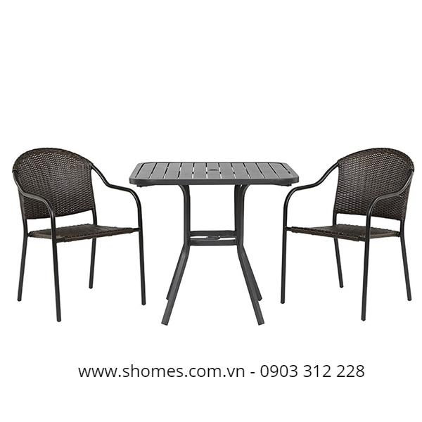 Phân phối bàn ghế nhôm tại tphcm
