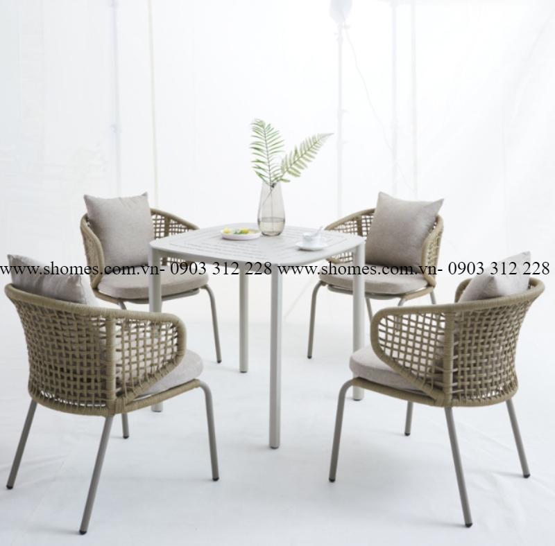 top các mẫu bàn ghế ngoài trời mới nhất