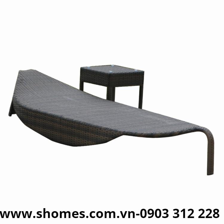 bàn ghế gỗ để ngoài trời