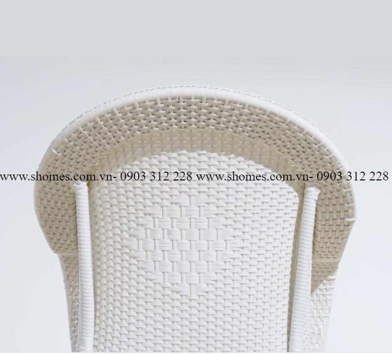 bộ bàn ghế sofa nhựa giả mây
