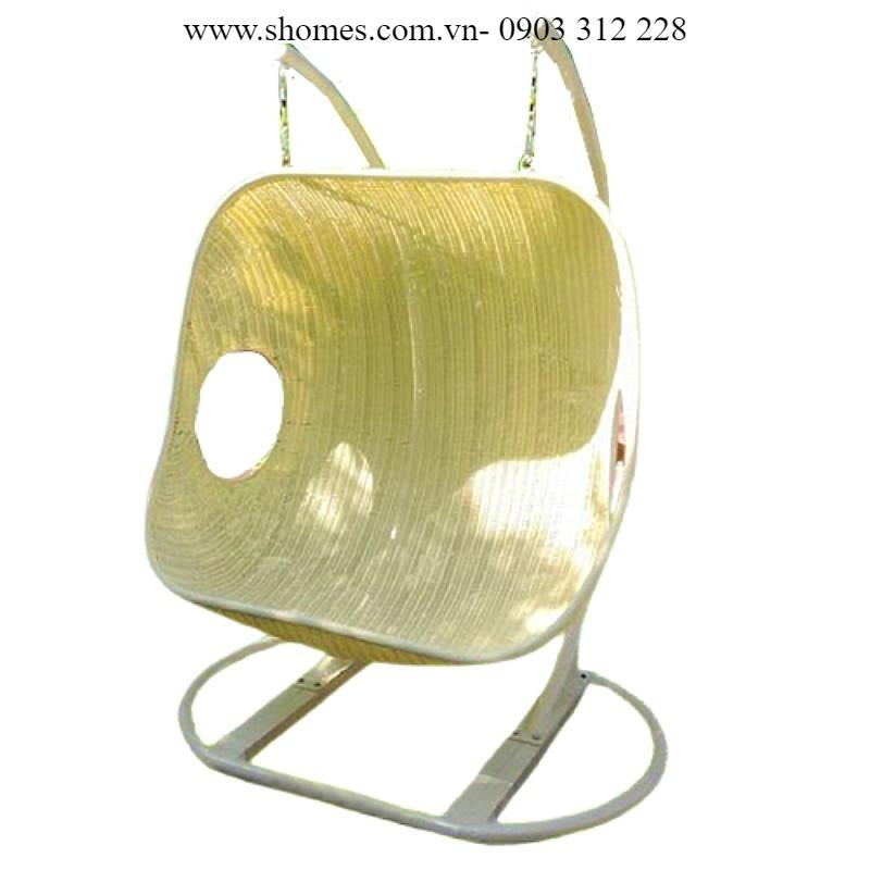 ghế trứng xích đu dây nhựa