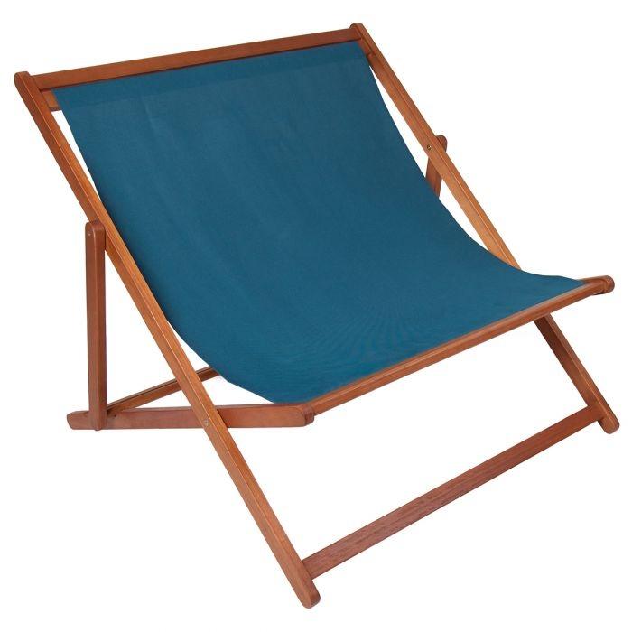 Ghế gấp gỗ màu xanh